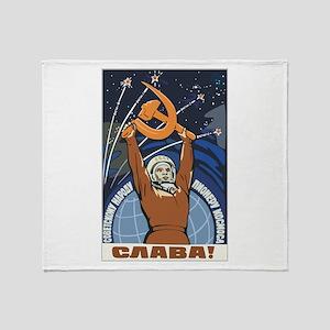 Communism Throw Blanket