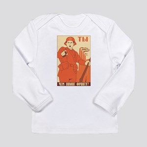 Red Army Long Sleeve Infant T-Shirt