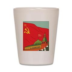 Soviet Union Shot Glass