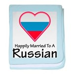 Happily Married Russian baby blanket