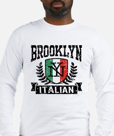 Brooklyn NY Italian Long Sleeve T-Shirt