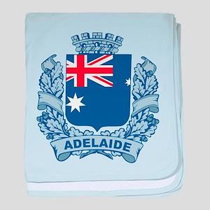 Stylish Adelaide Crest baby blanket