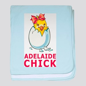 Adelaide Chick baby blanket