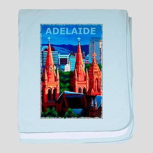 Adelaide Art baby blanket