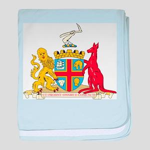 Adelaide Coat Of Arms baby blanket