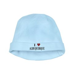 I Love Albuquerque baby hat