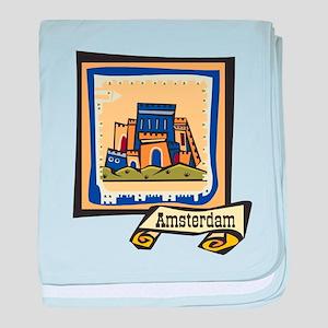 Amsterdam baby blanket