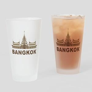 Vintage Bangkok Temple Pint Glass