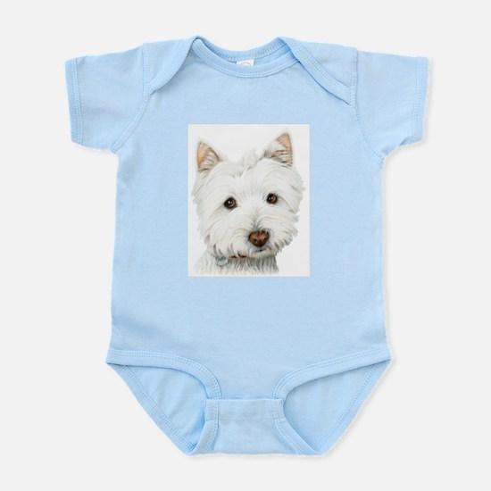 Westie Dog Infant Bodysuit