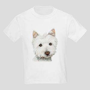 Westie Dog Kids Light T-Shirt