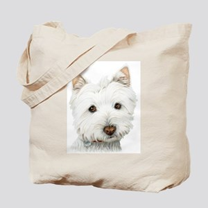 Westie Dog Tote Bag