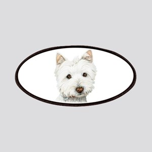 Westie Dog Patches