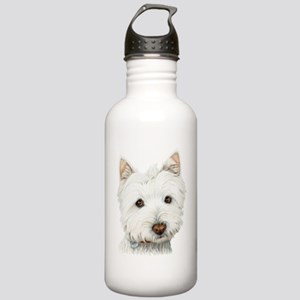 Westie Dog Stainless Water Bottle 1.0L