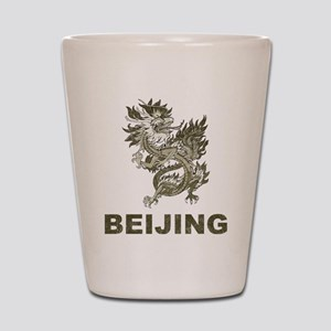 Vintage Dragon Beijing Shot Glass
