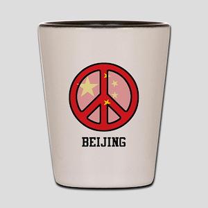 Peace In Beijing Shot Glass
