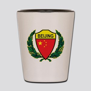 Stylized Beijing Shot Glass