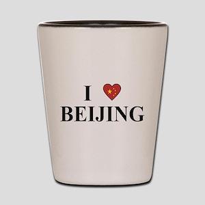 I Love Beijing Shot Glass