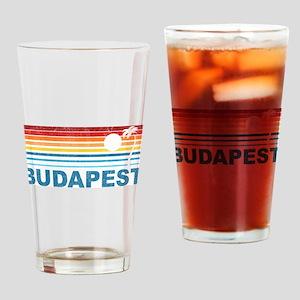 Palm Tree Budapest Pint Glass