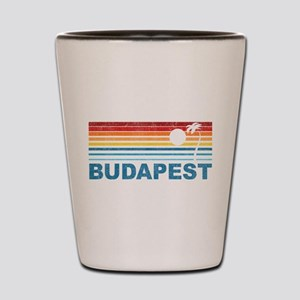 Palm Tree Budapest Shot Glass