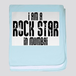 Rock Star In Mumbai baby blanket