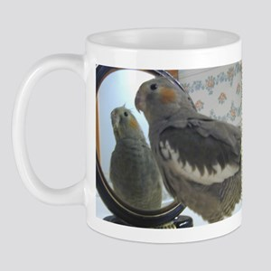 Fine Feathers Cockatiel Mug