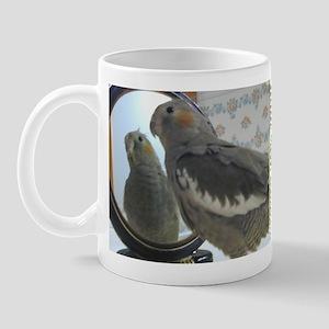 Fine Feathers Cockatiel Mug