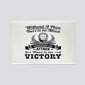 Without A Plan There Is No Victory Magnets