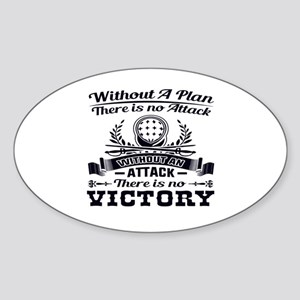 Without A Plan There Is No Victory Sticker
