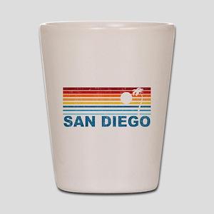 Palm Tree San Diego Shot Glass