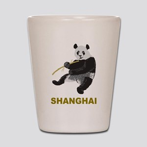Shanghai Panda Shot Glass