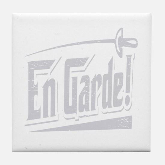 En Garde! Tile Coaster