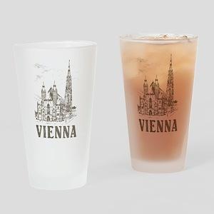 Vintage Vienna Pint Glass