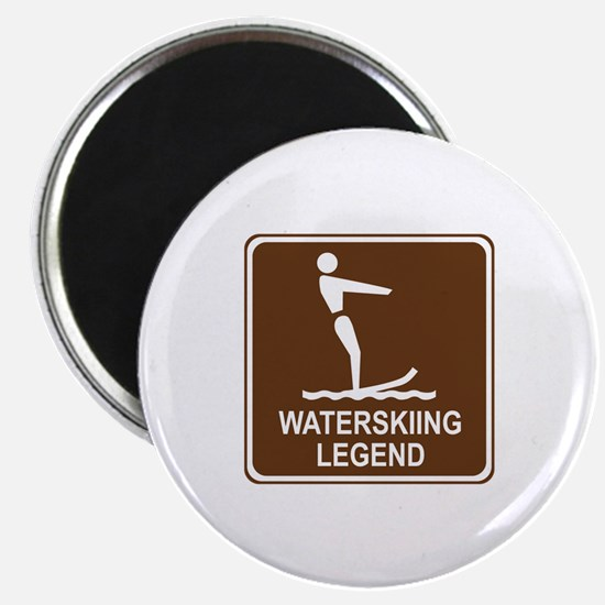 Waterskiing Legend Magnet