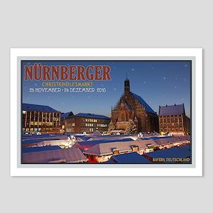 Nürnberg Christkindlmarkt Postcards (Package of 8)