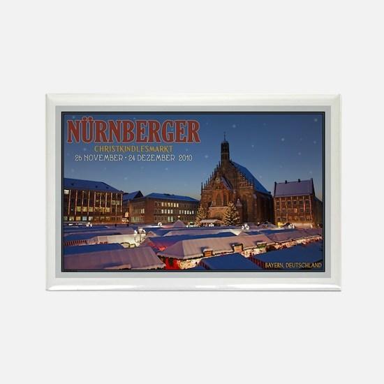 Nürnberg Christkindlmarkt Rectangle Magnet