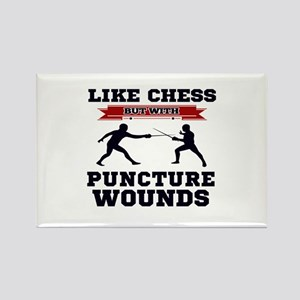 Like Chess But Without Puncture Wounds Magnets