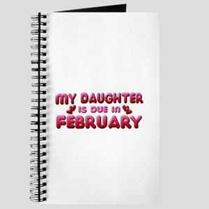 My Daughter is Due in February Journal