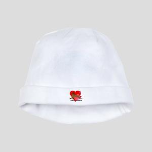 Chocolate Labrador Retriever baby hat