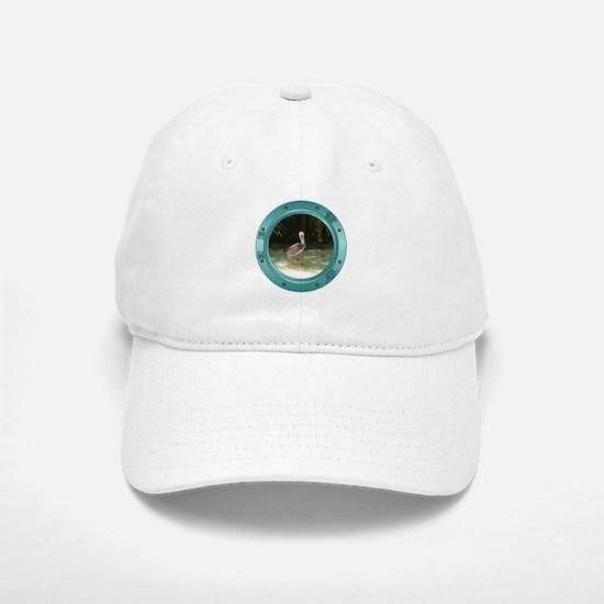 Pelican Porthole Baseball Baseball Cap