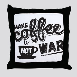 Make Coffee Throw Pillow