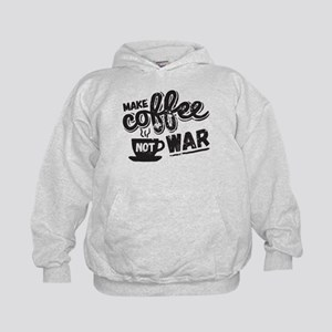 Make Coffee Kids Hoodie