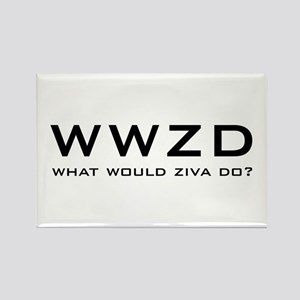 What Would Ziva Do? Rectangle Magnet