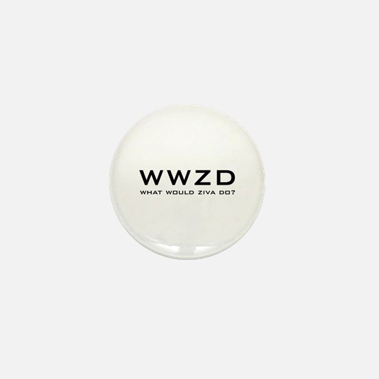 What Would Ziva Do? Mini Button