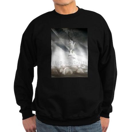 Stop Chemtrails Sweatshirt (dark)