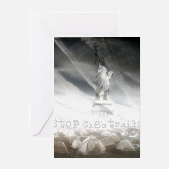 Stop Chemtrails Greeting Card