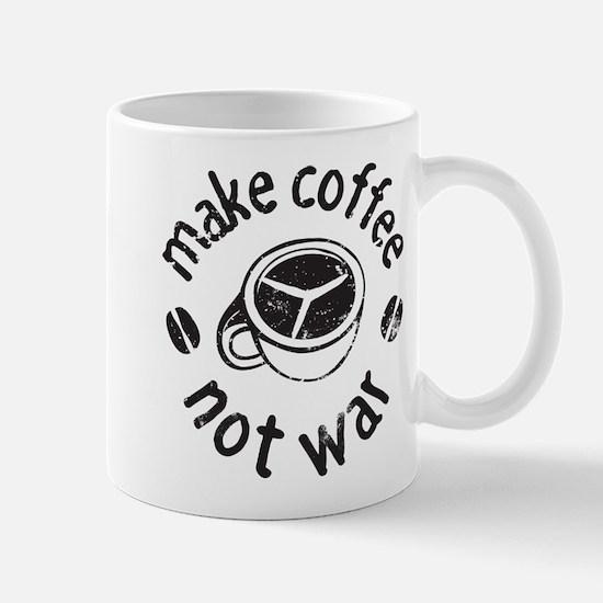 Coffee Not War Mug