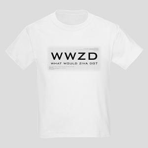 What Would Ziva Do? Kids Light T-Shirt