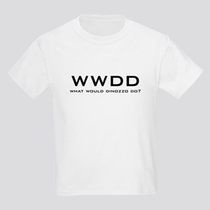 What Would DiNozzo Do? Kids Light T-Shirt
