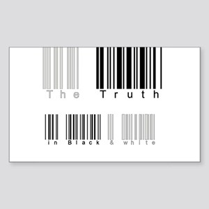 """""""The Truth"""" Rectangle Sticker"""