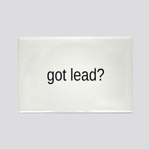 got lead Rectangle Magnet